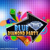 Blue Diamond Party icon
