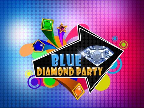 Blue Diamond Party poster