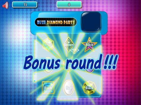 Blue Diamond Party screenshot 2