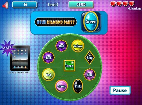 Blue Diamond Party apk screenshot
