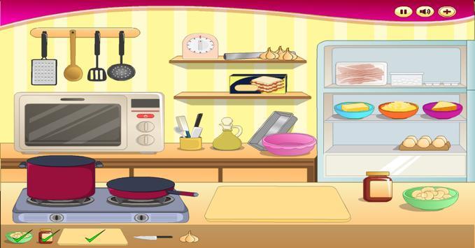 Lunch Food: pancake Maker poster