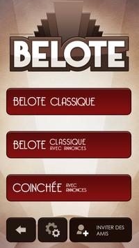 Belote Gratuit apk screenshot