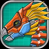 Robot Therizinosaurus Toy War icon