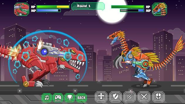Robot Therizinosaurus Toy War poster