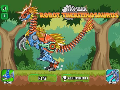 Robot Therizinosaurus Toy War screenshot 14