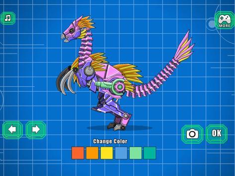 Robot Therizinosaurus Toy War screenshot 12