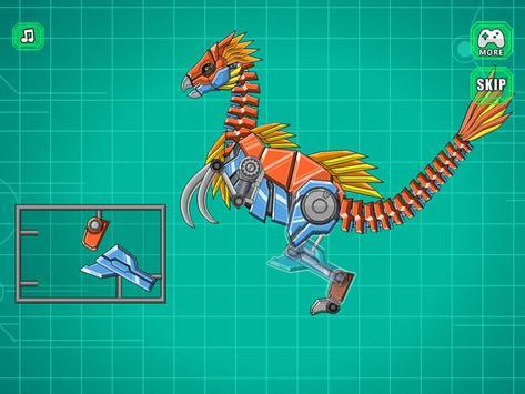 Robot Therizinosaurus Toy War screenshot 13