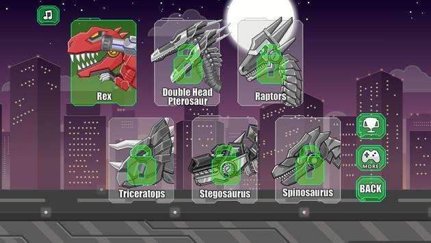 Robot Therizinosaurus Toy War screenshot 1