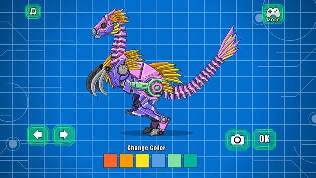 Robot Therizinosaurus Toy War screenshot 2
