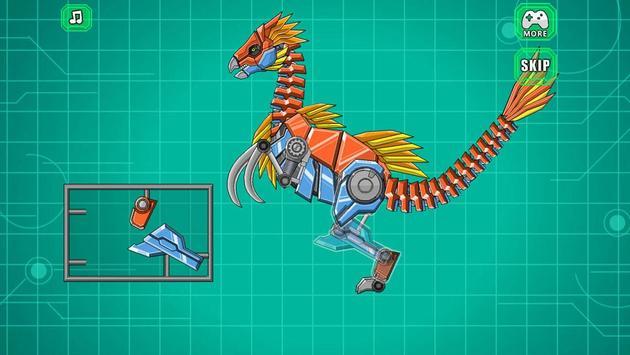 Robot Therizinosaurus Toy War screenshot 3