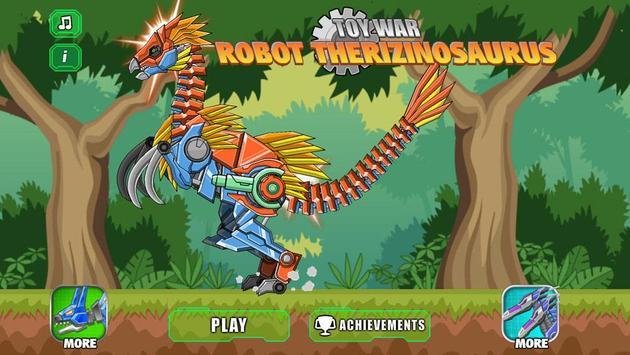 Robot Therizinosaurus Toy War screenshot 4
