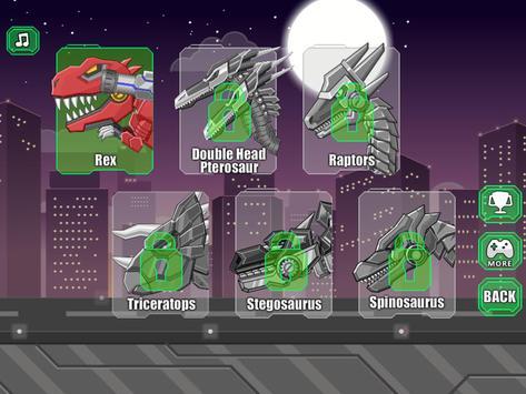 Robot Therizinosaurus Toy War screenshot 6