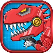 Toy Robot Mexico Rex Dino War icône