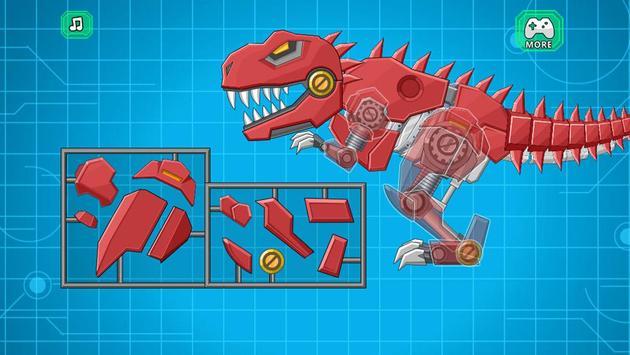 Toy Robot Mexico Rex Dino War capture d'écran 1