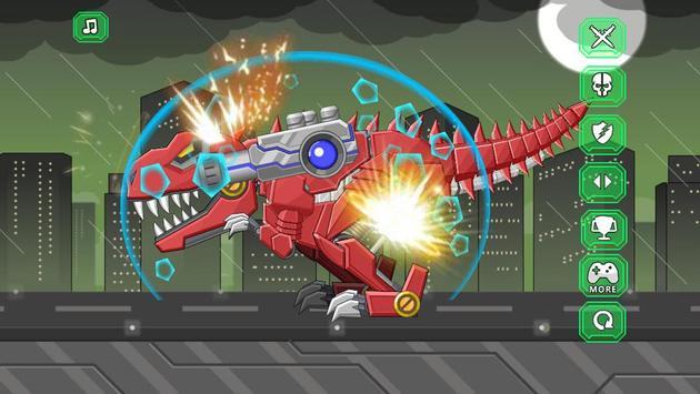 Toy Robot Mexico Rex Dino War capture d'écran 2