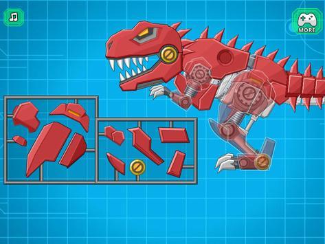 Toy Robot Mexico Rex Dino War capture d'écran 4