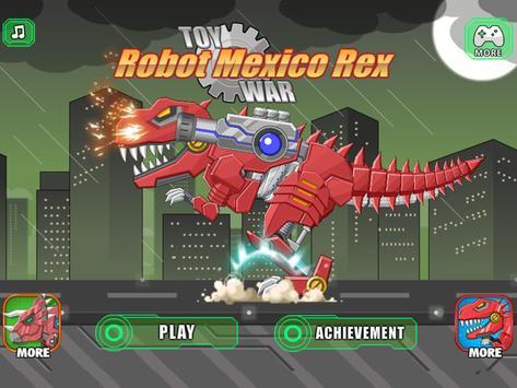 Toy Robot Mexico Rex Dino War capture d'écran 6