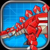 Assemble Robot War Stegosaurus icon