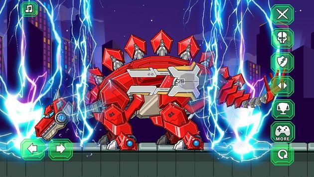 Assemble Robot War Stegosaurus apk screenshot