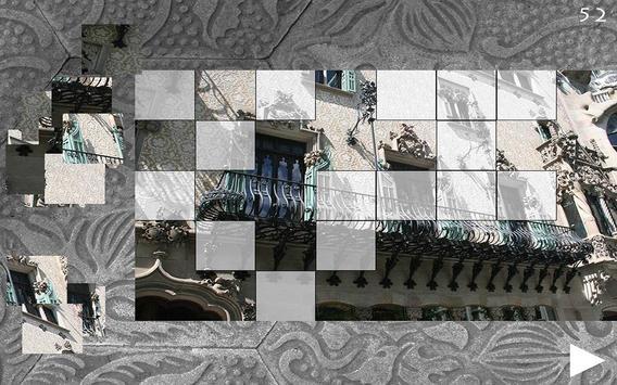 Casa Ametller, BCN. Puzzle screenshot 4