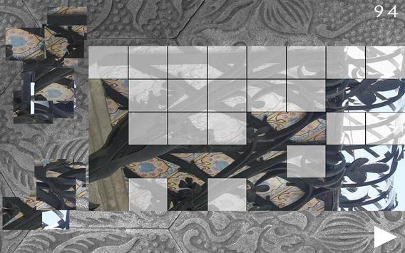 Casa Ametller, BCN. Puzzle screenshot 2