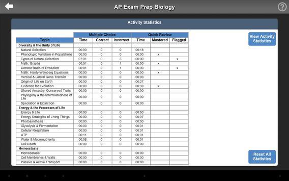 AP Exam Prep Biology LITE screenshot 6
