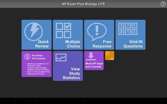 AP Exam Prep Biology LITE screenshot 7