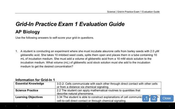 AP Exam Prep Biology LITE screenshot 11