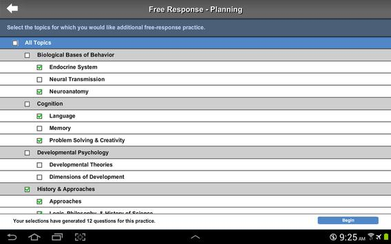 AP Exam Prep Psychology LITE screenshot 4