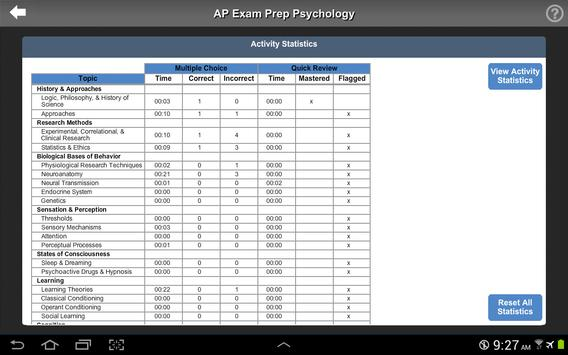 AP Exam Prep Psychology LITE screenshot 6