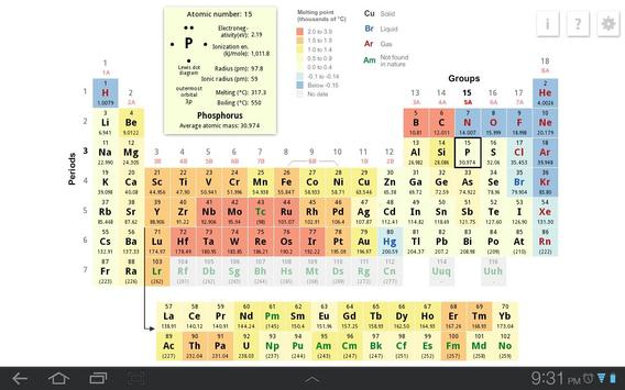 K12 periodic table apk download free education app for android k12 periodic table apk screenshot urtaz Images