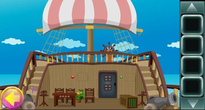 Caribbean Pirate Girl Rescue Game Kavi - 188 apk screenshot