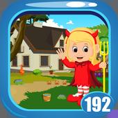 Cute Devil Baby Rescue Game Kavi - 192 icon