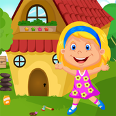 Cute Pretty Girl Rescue Kavi Escape Game-332 icon
