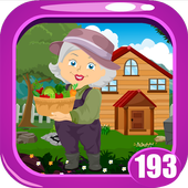 Farmer Lady Rescue Game  Kavi - 193 icon