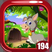 Funny Donkey Rescue Game Kavi - 194 icon