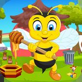 Kavi Escape Games 428 Honey Bee Rescue Game icon