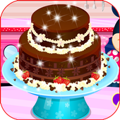 Chocolate Cake Cooking Game icon