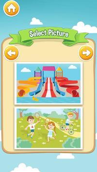 Kids Game Spot The Differences apk screenshot