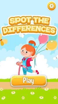 Kids Game Spot The Differences poster