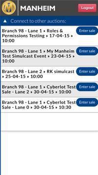 Manheim Simulcast screenshot 2