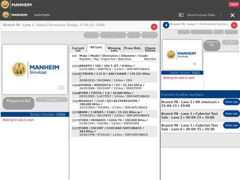 Manheim Simulcast screenshot 6