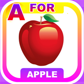Kids Apps - A For Apple Learning & Fun Puzzle Game icon