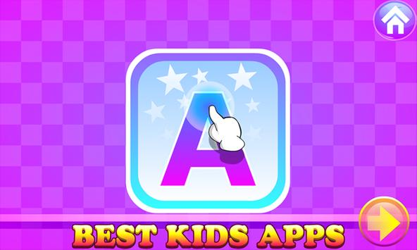 Kids Apps - A For Apple Learning & Fun Puzzle Game screenshot 1