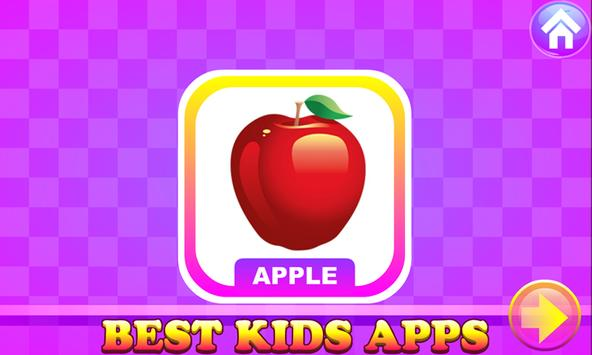 Kids Apps - A For Apple Learning & Fun Puzzle Game screenshot 2