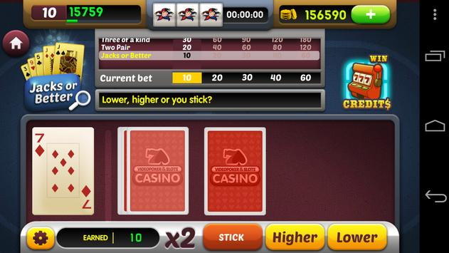 Video Poker & Slots Free apk screenshot