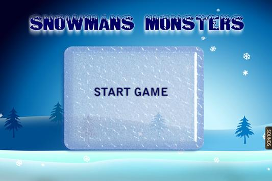 Snowmans Monsters poster