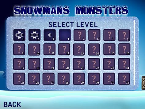 Snowmans Monsters apk screenshot