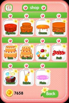 Design a Cake - Girls Games apk screenshot
