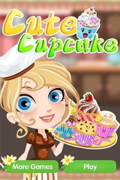 Cute Cupcake - Girls Game poster